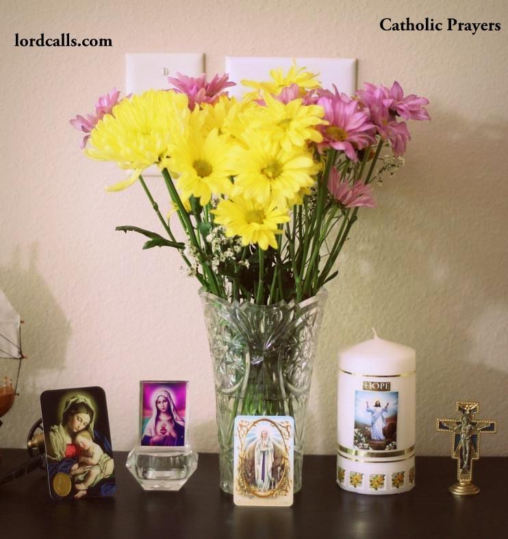 Marian Home Altar